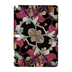 Floral Arabesque Decorative Artwork Samsung Galaxy Note 10.1 (P600) Hardshell Case