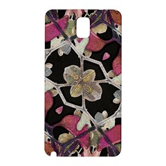 Floral Arabesque Decorative Artwork Samsung Galaxy Note 3 N9005 Hardshell Back Case