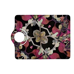 Floral Arabesque Decorative Artwork Kindle Fire Hd 7  (2nd Gen) Flip 360 Case