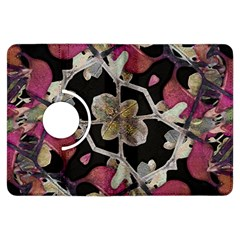 Floral Arabesque Decorative Artwork Kindle Fire HDX 7  Flip 360 Case