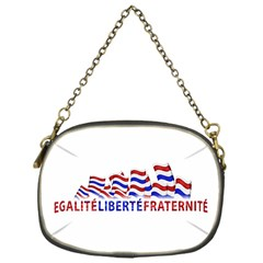 Bastille Day Chain Purse (one Side)