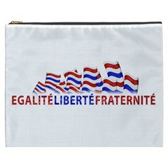 Bastille Day Cosmetic Bag (XXXL)