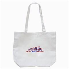 Bastille Day Tote Bag (White)