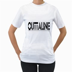 OUTTALINE WOMEN1 Women s T-Shirt (White)