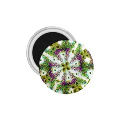 Neo Noveau Style Background Pattern 1.75  Button Magnet
