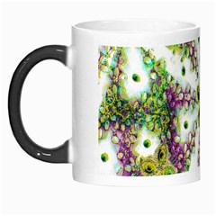 Neo Noveau Style Background Pattern Morph Mug