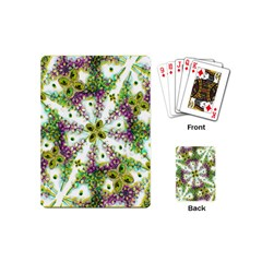 Neo Noveau Style Background Pattern Playing Cards (mini)