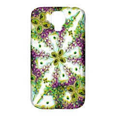 Neo Noveau Style Background Pattern Samsung Galaxy S4 Classic Hardshell Case (pc+silicone)