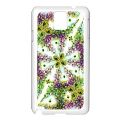 Neo Noveau Style Background Pattern Samsung Galaxy Note 3 N9005 Case (White)