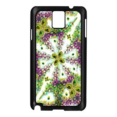 Neo Noveau Style Background Pattern Samsung Galaxy Note 3 N9005 Case (black)