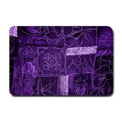 Pretty Purple Patchwork Small Door Mat