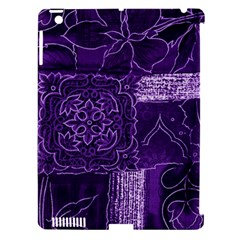 Pretty Purple Patchwork Apple Ipad 3/4 Hardshell Case (compatible With Smart Cover)