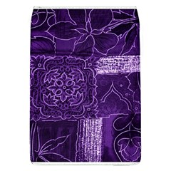 Pretty Purple Patchwork Removable Flap Cover (Large)