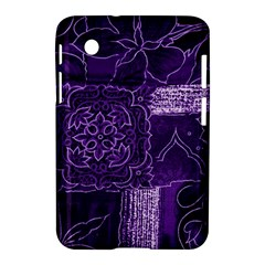 Pretty Purple Patchwork Samsung Galaxy Tab 2 (7 ) P3100 Hardshell Case
