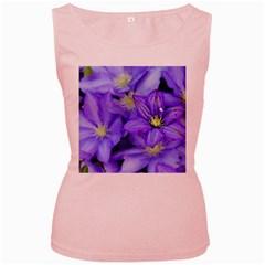 Purple Wildflowers For Fms Women s Tank Top (pink)