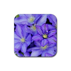 Purple Wildflowers For Fms Drink Coasters 4 Pack (square)
