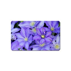 Purple Wildflowers For Fms Magnet (Name Card)