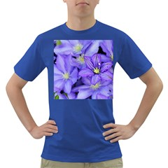 Purple Wildflowers For Fms Men s T Shirt (colored)