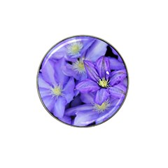 Purple Wildflowers For Fms Golf Ball Marker (for Hat Clip)