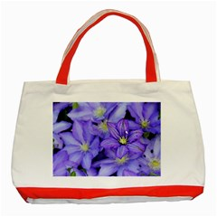 Purple Wildflowers For Fms Classic Tote Bag (red)
