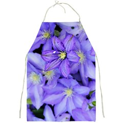 Purple Wildflowers For Fms Apron