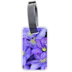 Purple Wildflowers For Fms Luggage Tag (one Side)