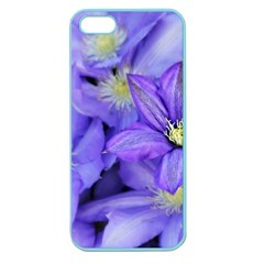 Purple Wildflowers For Fms Apple Seamless Iphone 5 Case (color)