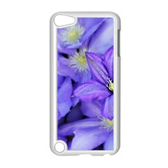 Purple Wildflowers For Fms Apple Ipod Touch 5 Case (white)