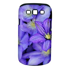 Purple Wildflowers For Fms Samsung Galaxy S III Classic Hardshell Case (PC+Silicone)