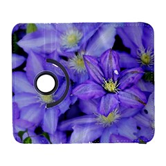 Purple Wildflowers For Fms Samsung Galaxy S  III Flip 360 Case