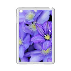 Purple Wildflowers For Fms Apple iPad Mini 2 Case (White)