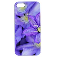 Purple Wildflowers For Fms Apple Iphone 5 Hardshell Case With Stand