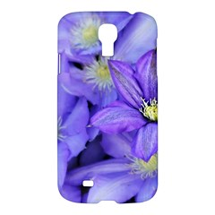 Purple Wildflowers For Fms Samsung Galaxy S4 I9500/i9505 Hardshell Case