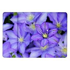 Purple Wildflowers For Fms Samsung Galaxy Tab 10.1  P7500 Flip Case
