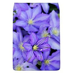 Purple Wildflowers For Fms Removable Flap Cover (large)