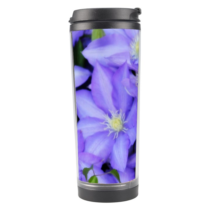 Purple Wildflowers For Fms Travel Tumbler