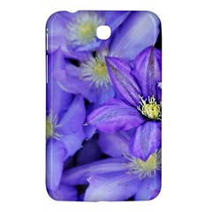 Purple Wildflowers For Fms Samsung Galaxy Tab 3 (7 ) P3200 Hardshell Case