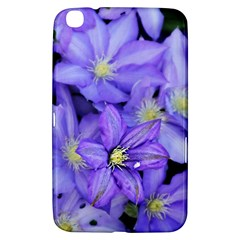 Purple Wildflowers For Fms Samsung Galaxy Tab 3 (8 ) T3100 Hardshell Case