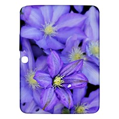 Purple Wildflowers For Fms Samsung Galaxy Tab 3 (10 1 ) P5200 Hardshell Case