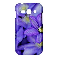 Purple Wildflowers For Fms Samsung Galaxy Ace 3 S7272 Hardshell Case