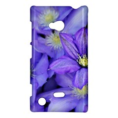 Purple Wildflowers For Fms Nokia Lumia 720 Hardshell Case