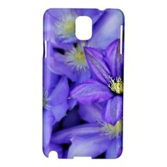 Purple Wildflowers For Fms Samsung Galaxy Note 3 N9005 Hardshell Case