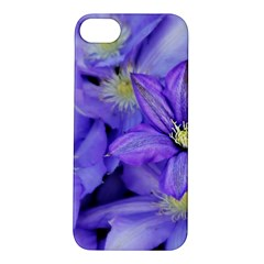 Purple Wildflowers For Fms Apple Iphone 5s Hardshell Case