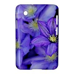 Purple Wildflowers For Fms Samsung Galaxy Tab 2 (7 ) P3100 Hardshell Case