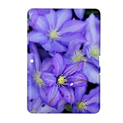 Purple Wildflowers For Fms Samsung Galaxy Tab 2 (10.1 ) P5100 Hardshell Case