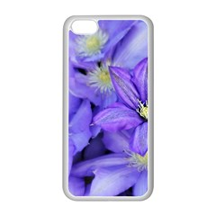 Purple Wildflowers For Fms Apple iPhone 5C Seamless Case (White)