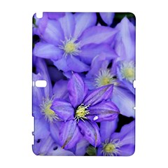 Purple Wildflowers For Fms Samsung Galaxy Note 10.1 (P600) Hardshell Case