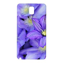 Purple Wildflowers For Fms Samsung Galaxy Note 3 N9005 Hardshell Back Case
