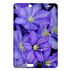 Purple Wildflowers For Fms Kindle Fire HD 7  (2nd Gen) Hardshell Case