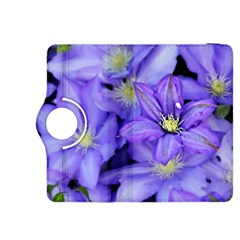 Purple Wildflowers For Fms Kindle Fire Hdx 8 9  Flip 360 Case